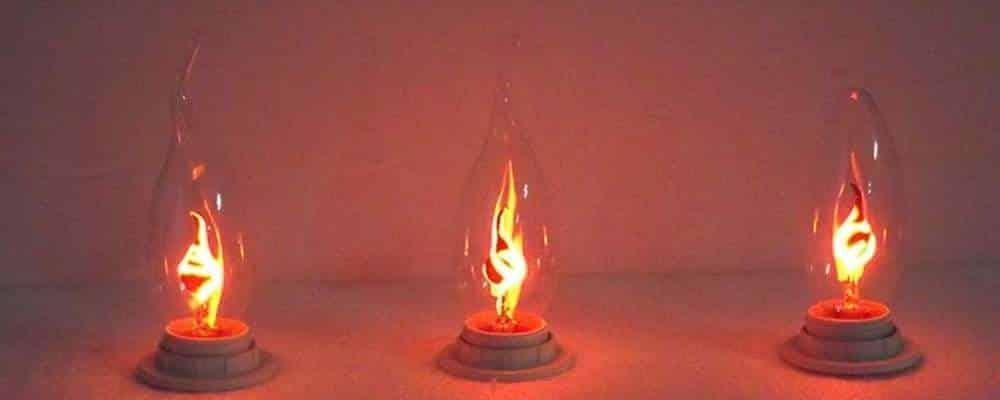 Flicker Flame Light Bulb