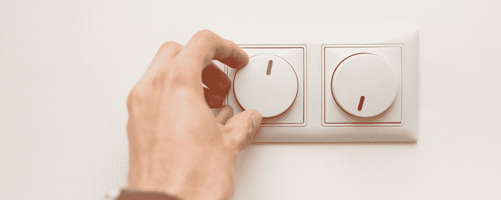 how to dim lights without a dimmer