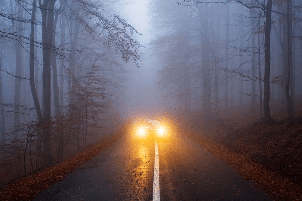Fog lights are necessary, especially when travelling at a foggy night